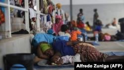 Cabo Delgado, centro desportivo de Pemba acolhe deslocados