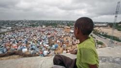 تظاهرات اعتراضی قحطی زدگان در پايتخت سومالی