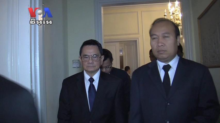 State Department Official Pays Respects to Sihanouk at Cambodian Embassy