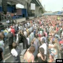 Festival rada kojeg je u Milwaukee-ju organizirao sindikat na Dan rada, 6. septembra i na kojem je govorio predsjednik Barack Obama