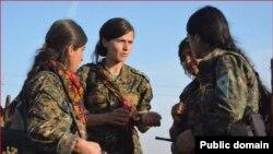 Hin endamên YPGê û YPJ ku beşekin ji Hêzên Sûriya Demokrat