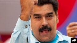 Maduro criticó a la oposición.