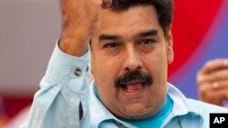 """Maduro dijo que llevará la """"verdad absoluta"""" de Venezuela a la Cumbre."""
