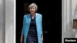 Menteri Dalam Negeri Inggris, Theresa May.
