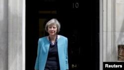 Theresa May se comprometió a sacar a Gran Bretaña de la Unión Europea.