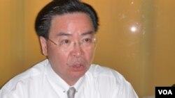 新任民進黨駐美代表吳釗燮(美國之音張蓉湘)
