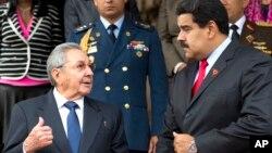 Raúl Castro se cuadró con Nicolás Maduro en su enfrentamiento contra EE.UU.