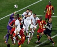 Ghana vs. US at the 2010 World Cup.