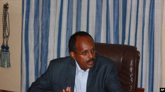 Newly appointed Somalia Prime Minister Mohamed Abdullahi Mohamed