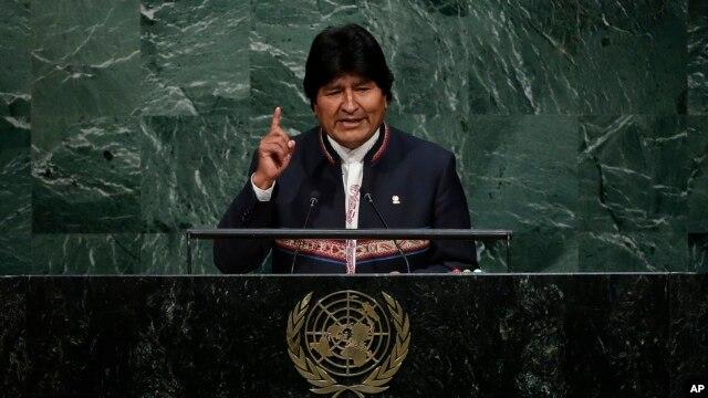 Evo Morales, el primer presidente indígena de Bolivia, consiguió en los comicios del año pasado su tercer sexenio con 60 por ciento de los votos.