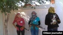 Female Kurdish Fighters in Syria