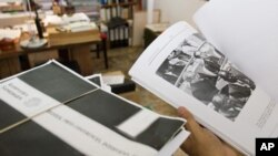DC-Cam documents, a testimony of Democratic Kampuchea's regime of genocide.