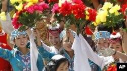 中國舉辦慶祝神九升空活動。