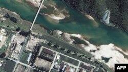 Satelitski snimak severnokorejskog nuklearnog objekta u Jongbjonu