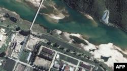 Satelitski snimak nuklearnog centra Jongbjon u Severnoj Koreji