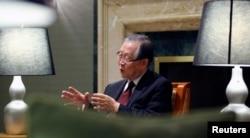 平壤科技大學校長朴贊謨(2012年資料照)