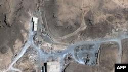 Bức ảnh chụp qua vệ tinh khu vực bị nghi là lò phản ứng của Syria