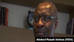Christopher Fomunyoh, directeur Afrique du NDI à Niamey, le 2 octobre 2019 (VOA/Abdoul-Razak Idrissa).