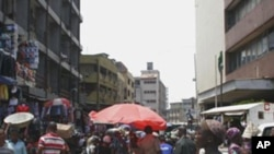 A market in Lagos, Nigeria, where lawmakers are moving to outlaw gay marriage.