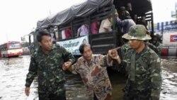 نگرانی بانکوک برای مقابله با سیل