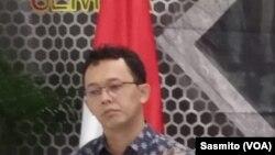 Beka Ulung Hapsara di kantor Komnas HAM, Jakarta, Kamis, 9 Januari 2020. (Foto: dok)