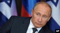 Le président Vladimir Poutine de la Russie, 14 mai 2013.