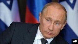 Le président russe Vladimir Poutine, 14 mai 2013.