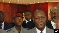 Alassane Ouattara, Rais aliyeidhinishwa na UN