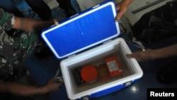 AirAsia uçağının Salı günü bulunan ses kayıt cihazı