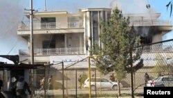 17일 아프가니스탄 헬만드 주 카불은행이 탈레반의 공격을 받았다.