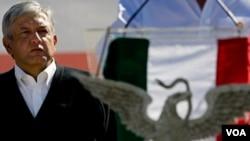 Opositores de López Obrador han promovido campañas que lo tildan como violento y autoritario, tras subir en las encuestas de la última semana.