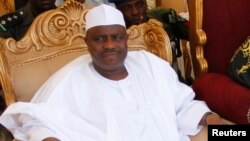 Aminu Waziri Tambuwal, gwamnan Sokoto kuma shugaban taron na Kano