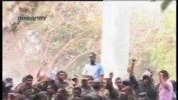 2012-02-07 粵語新聞: 馬爾代夫舉行抗議﹐警察譁變 總統辭職