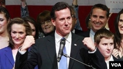 Kandidat Calon Presiden dari Partai Republik, Rick Santorum (Foto: dok)