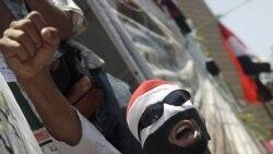زد و خورد در جریان راه پیمایی اعتراضی در قاهره