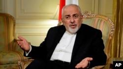 Le ministre iranien des Affaires étrangères, Mohammad Javad Zarif, à New York, le 24 avril 2018.