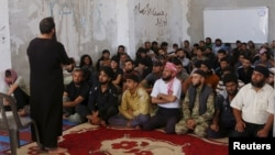 Les rebelles du mouvement Ahrar al-Sham en Syrie, 7 juillet 2015.