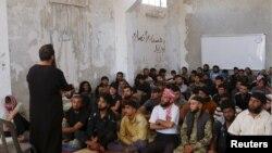 Pripadnici pobunjeničke grupe Ahrar al-Šam