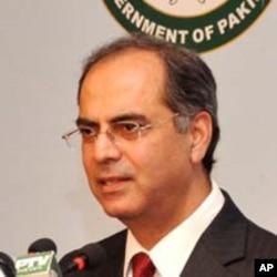 پاکستان دفتر خارجہ کے ترجمان معظم احمد خان (فائل فوٹو)