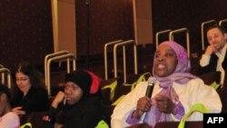 美国穆斯林参加普查讨论会