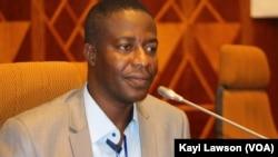 Docteur David Dosseh, à Lomé, le 15 juillet 2017/ (VOA/Kayi Lawson)
