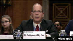 کریستوفر اشلی فورد، مدیر اداره امنیت بین المللی و عدم تکثیر سلاحهای کشتار جمعی وزارت خارجه آمریکا