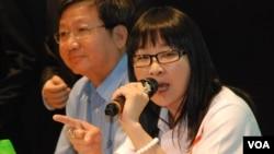 愛港力召集人陳靜心認為和平佔中猶如用刀要脅北京政府