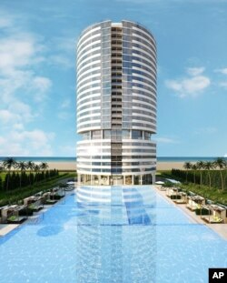 FILE - Trump Tower Punta del Este marks the official expansion of the Trump brand into South America.