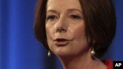 Thủ tướng Australia Julia Gillard 07/08/2012.