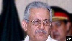 Thượng nghị sĩ Raza Rabbani, chủ tịch ủy ban an ninh quốc gia của Quốc hội Pakistan