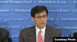 國際貨幣基金組織亞太局局長李昌鏞。(資料圖片)