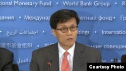 國際貨幣基金組織亞太部主任李昌鏞 (資料圖片)