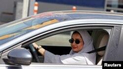 Захур Ассірі за кермом авто у місті Дагран, Саудівська Аравія, 24 червня 2018.