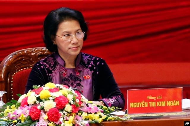 Chức vụ cao cấp thứ Tư trong 'Tứ trụ' là Chủ tịch Quốc hội, được cho là sẽ về tay bà Nguyễn Thị Kim Ngân.